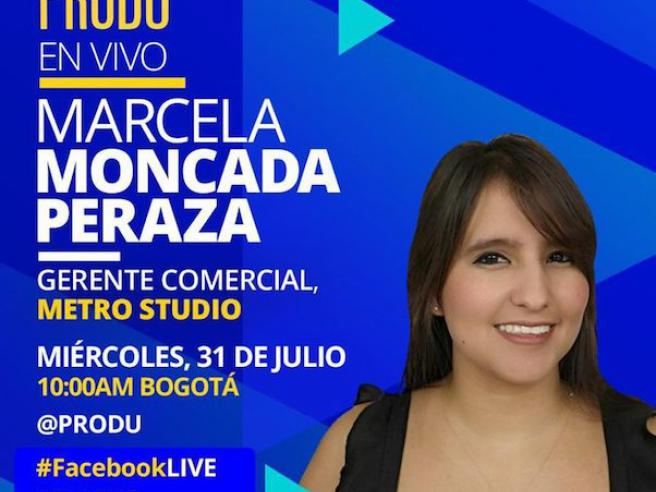 Metro Studio Audiovisual Production Company - Marcela Moncada Sales Manager